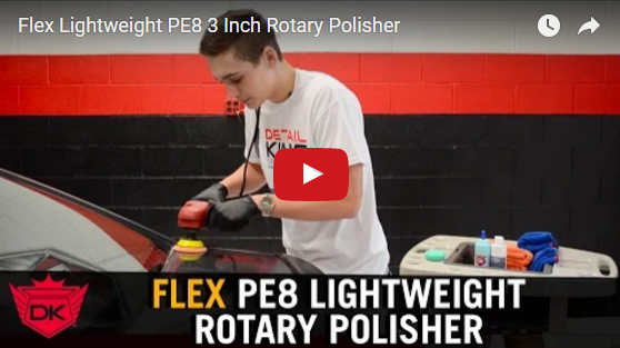 Flex Lightweight PE8 3 Inch Rotary Polisher