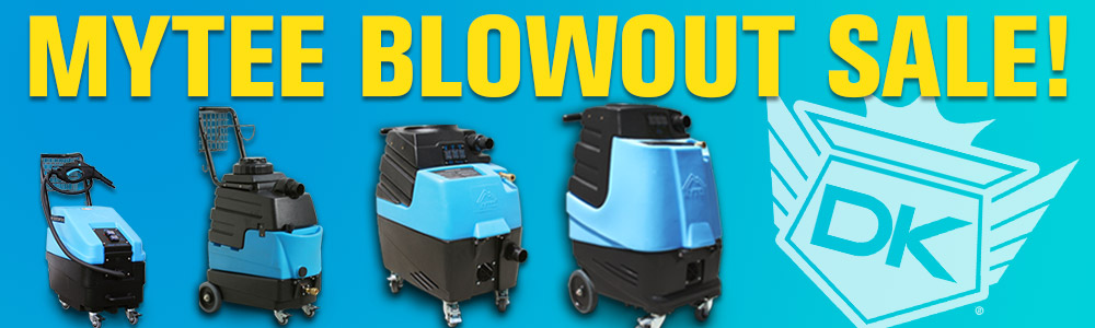 Save Big On Mytee Carpet Extractors!