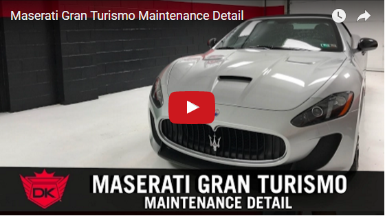 Maserati Gran Turismo Maintenance Detail