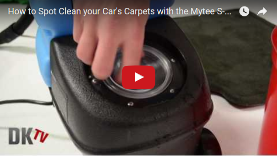How to Spot Clean your Car's Carpets with the Mytee S-300 Tempo Spotter