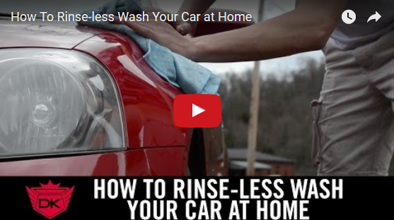 How To Rinse-less Wash Your Car at Home