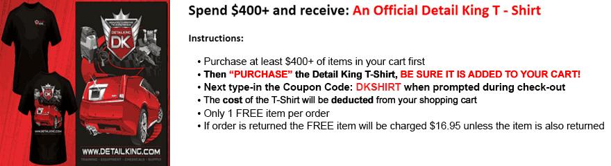 Detail King Official T-Shirt