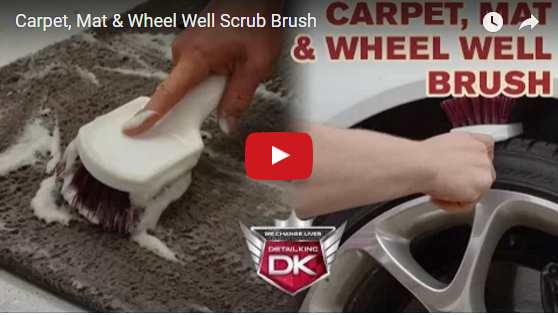 Carpet, Mat, & Wheel Well Scrub Brush