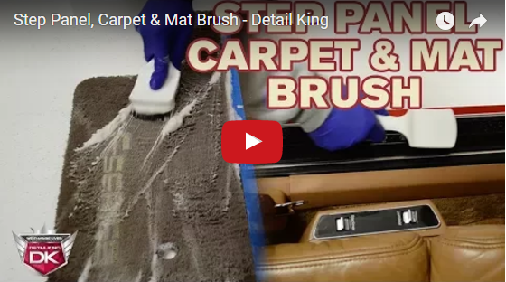 Step Panel, Carpet & Mat Brush