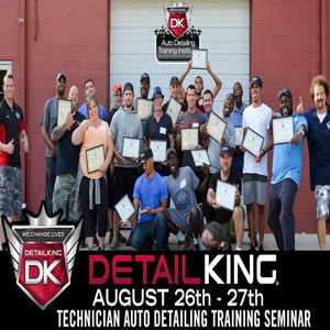 August 2017 Technician Auto Detailing Seminar