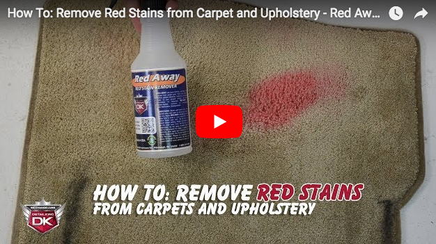 How To: Remove Red Stains From Carpets and Upholstery