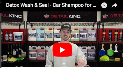 Detox Wash & Seal – Car Shampoo for Ceramic Coatings!