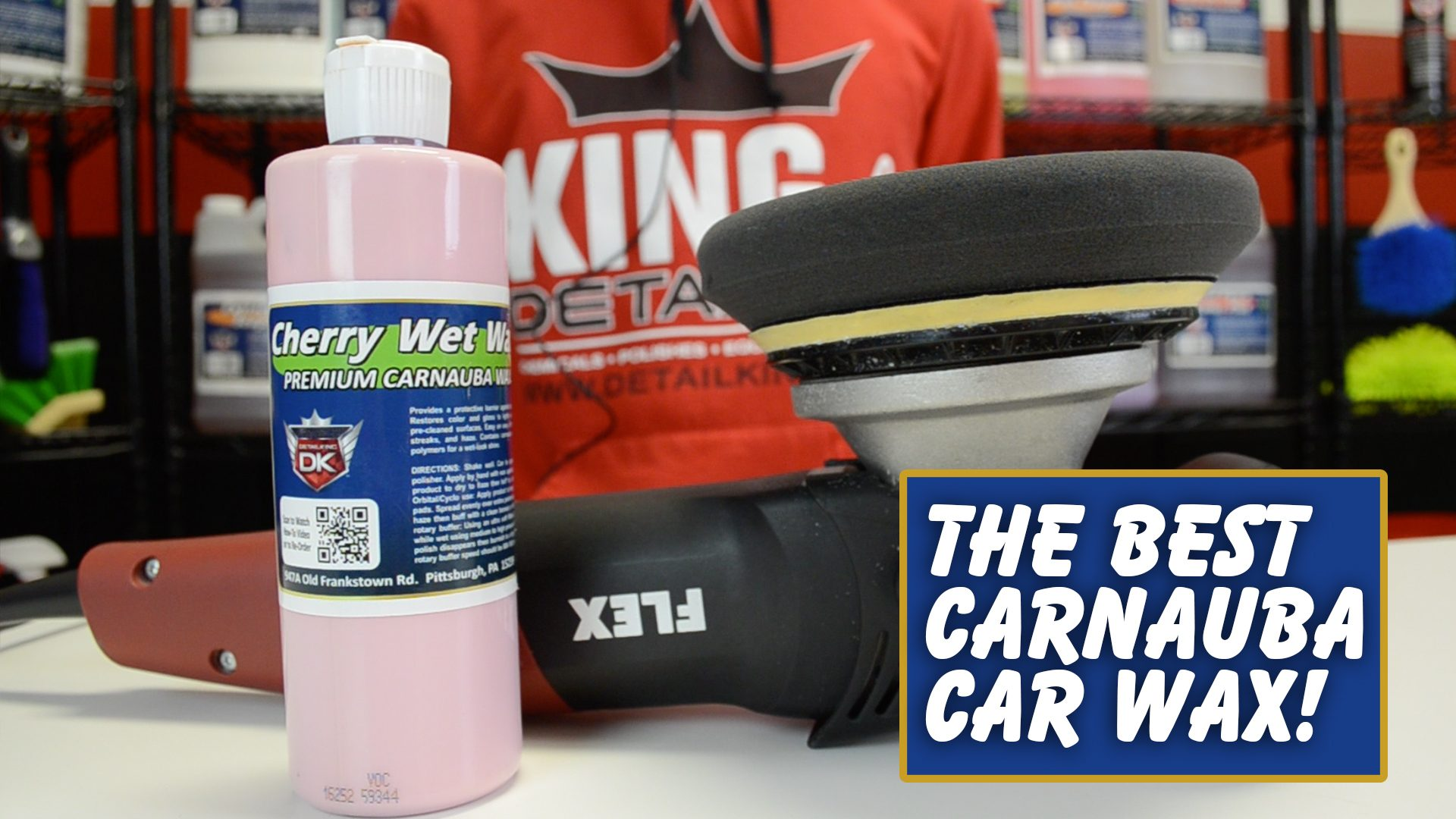 Detail King's Cherry Wet Wax