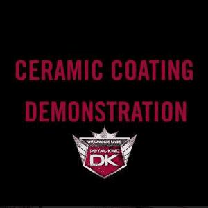 Ceramic Coating Demonstration