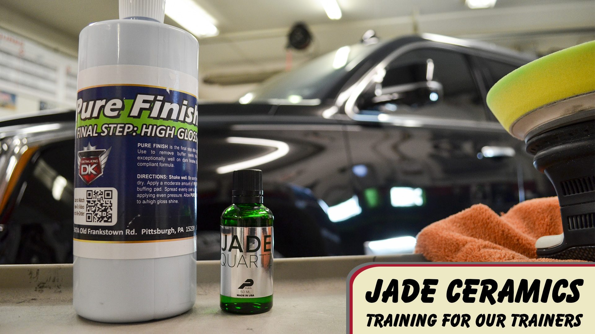 Jade Ceramic Coating Certification for our Trainers!