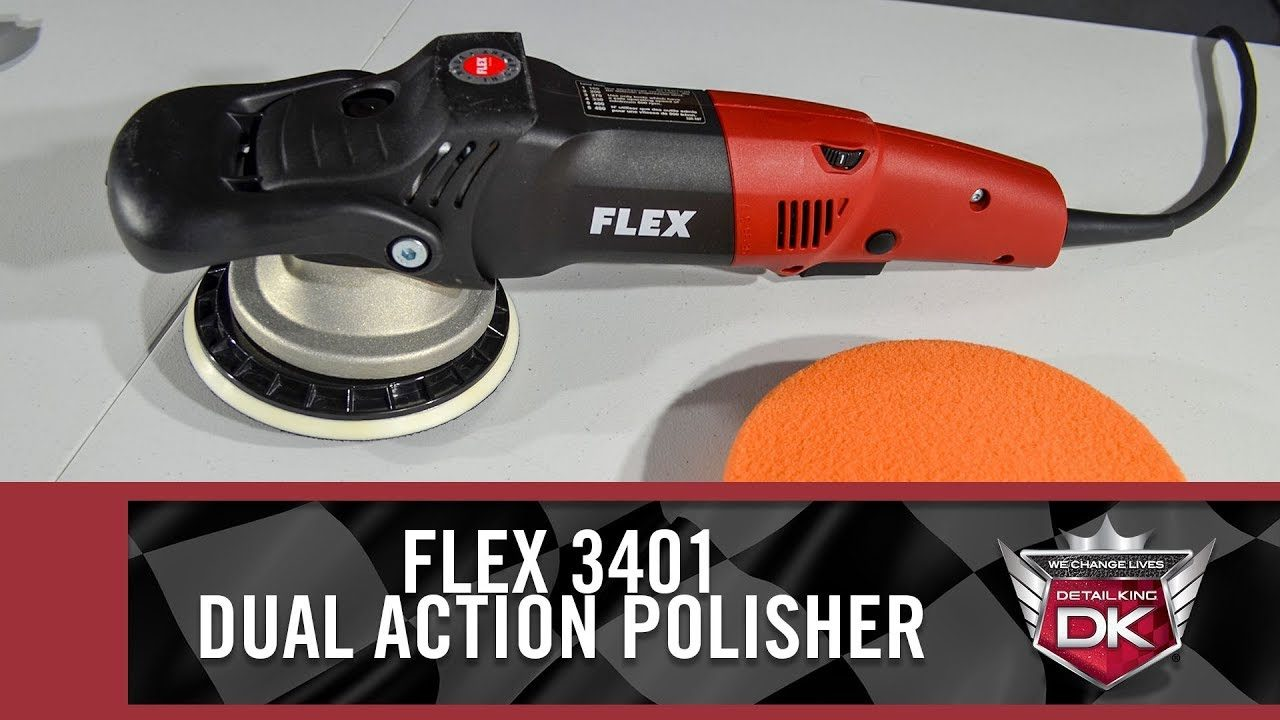 Flex 3401 Dual Action Polisher Overview