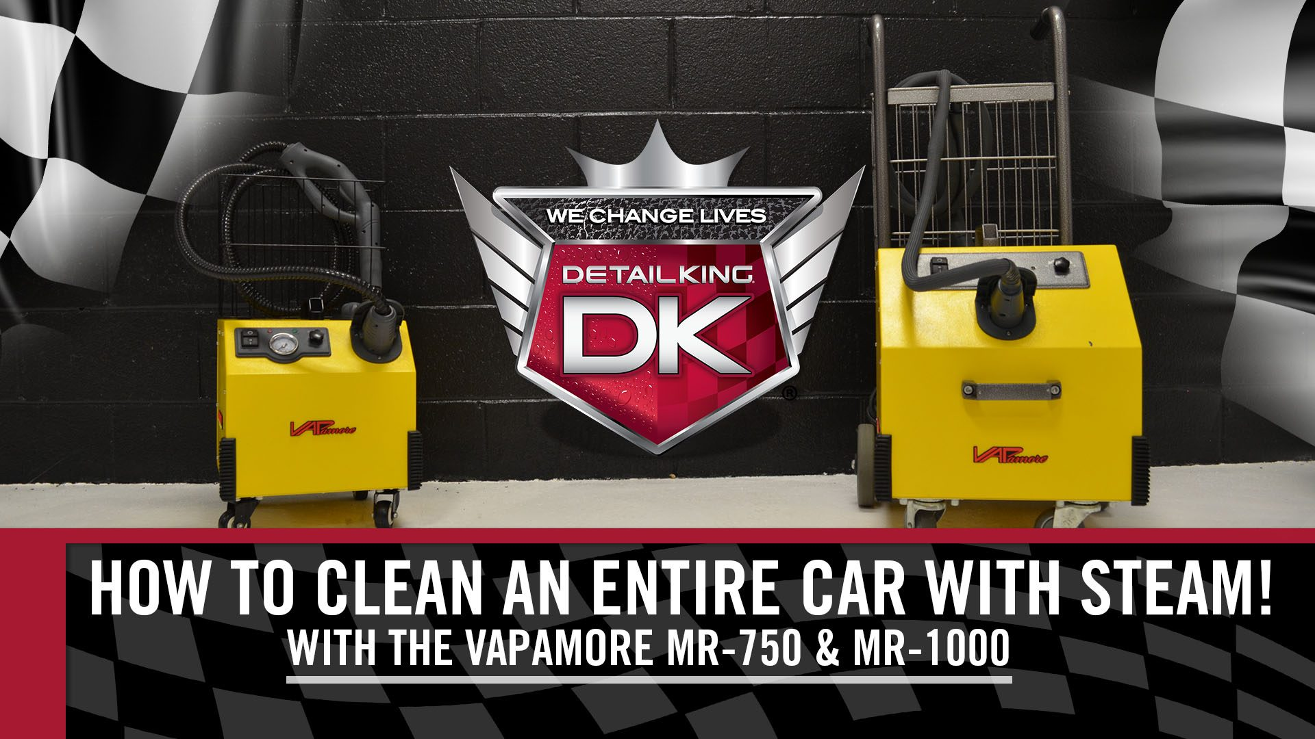 How To: Clean an ENTIRE Car with Steam using a Vapamore MR-750 & MR-1000