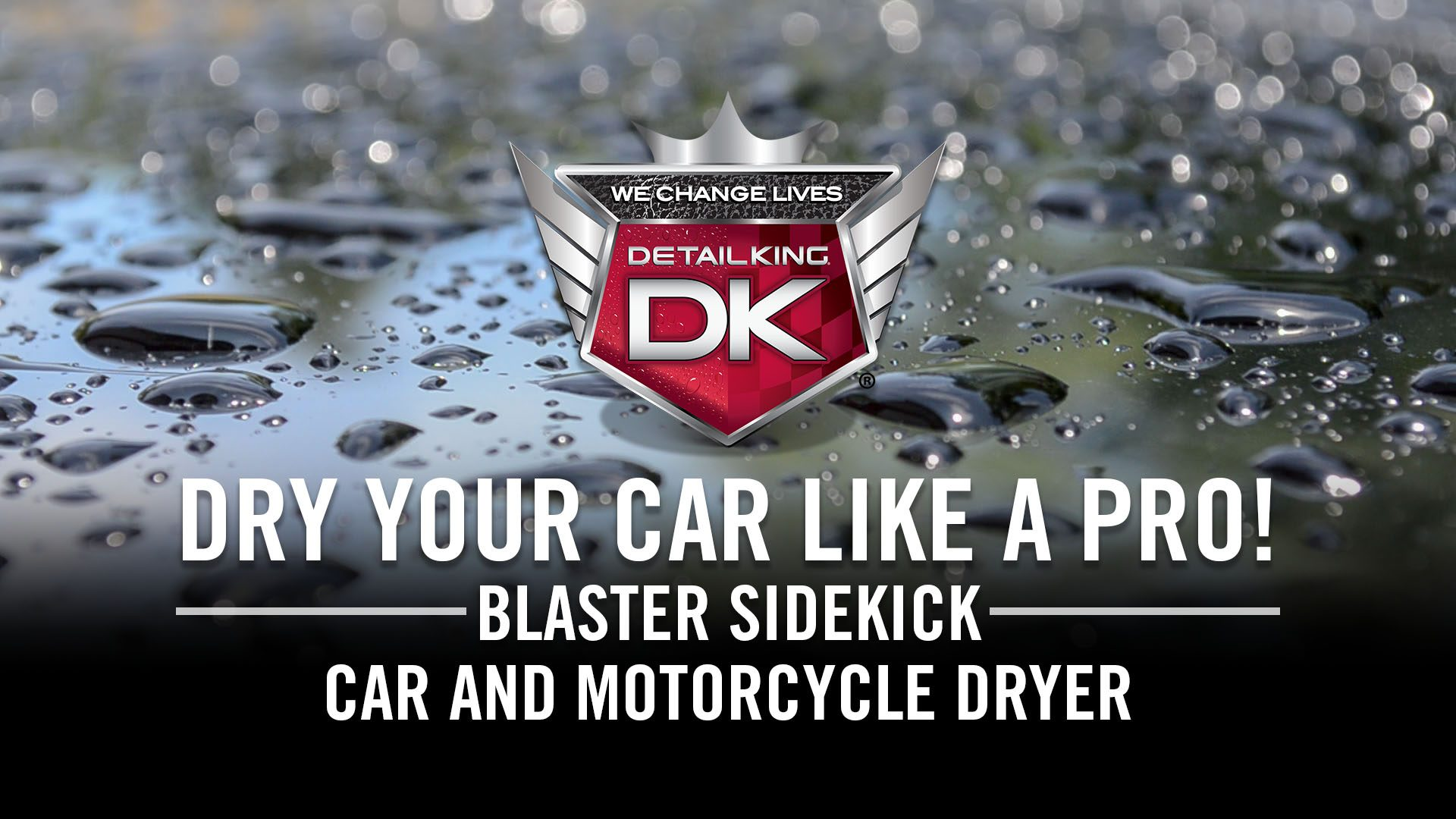Blaster Sidekick Car & Motorcycle Dryer