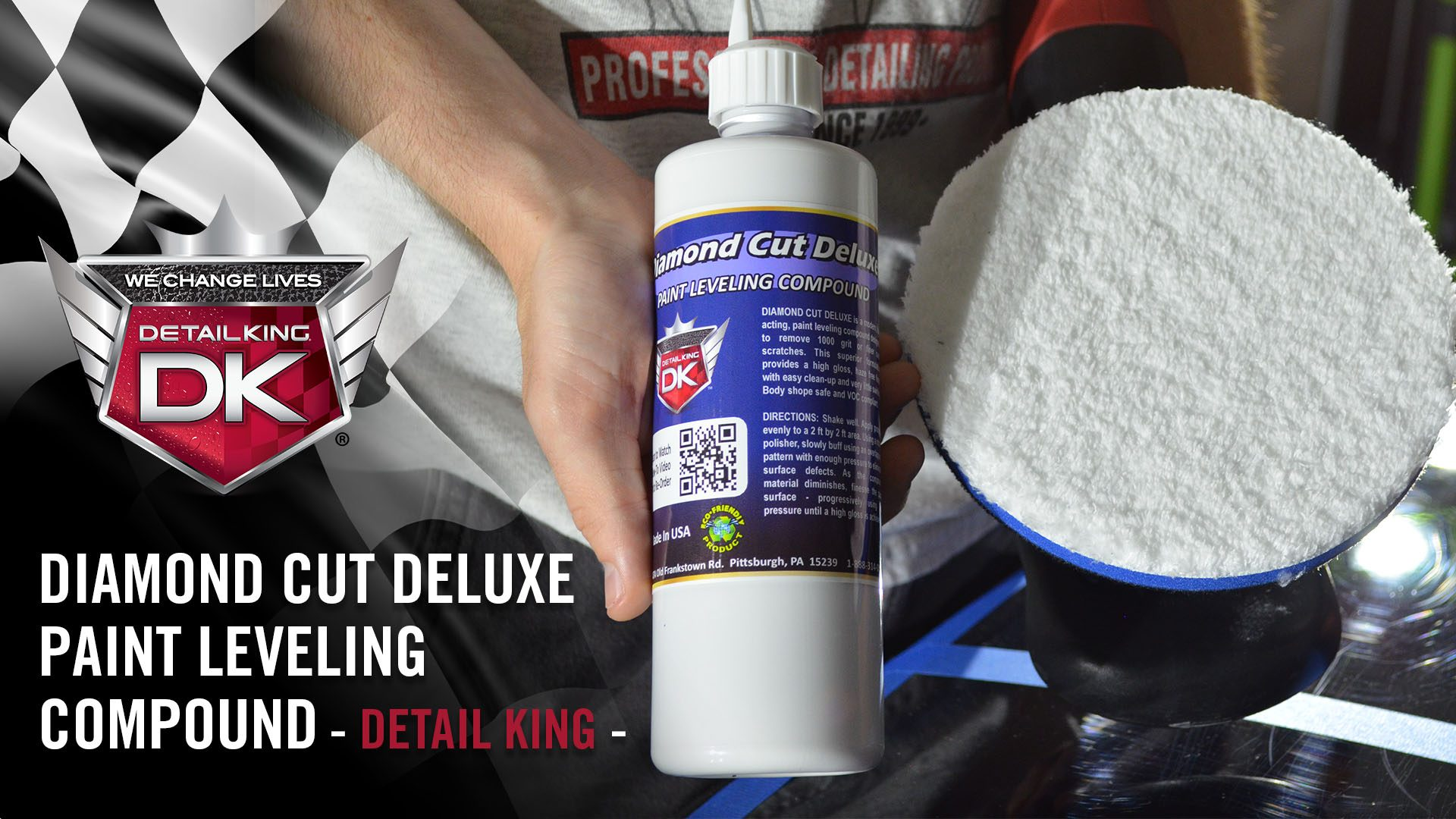 The BEST Paint Correction Compound – Diamond Cut Deluxe Compound