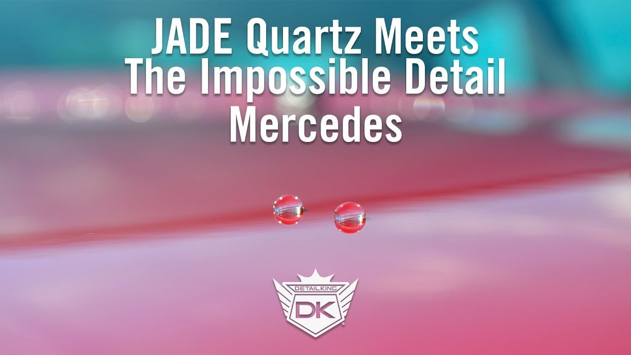 Jade Quartz Ceramic Coating Meets the Impossible Detail