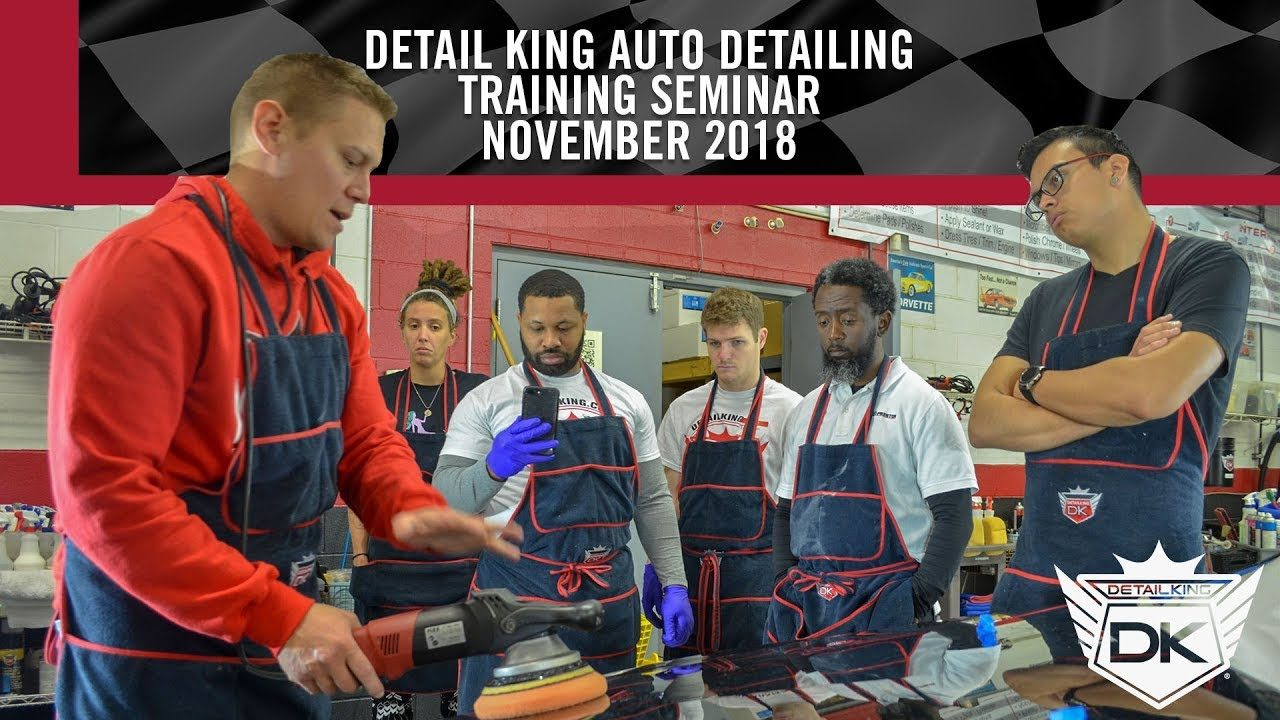 November 16th – 18th 2018 Craftsman Auto Detailing Training Seminar