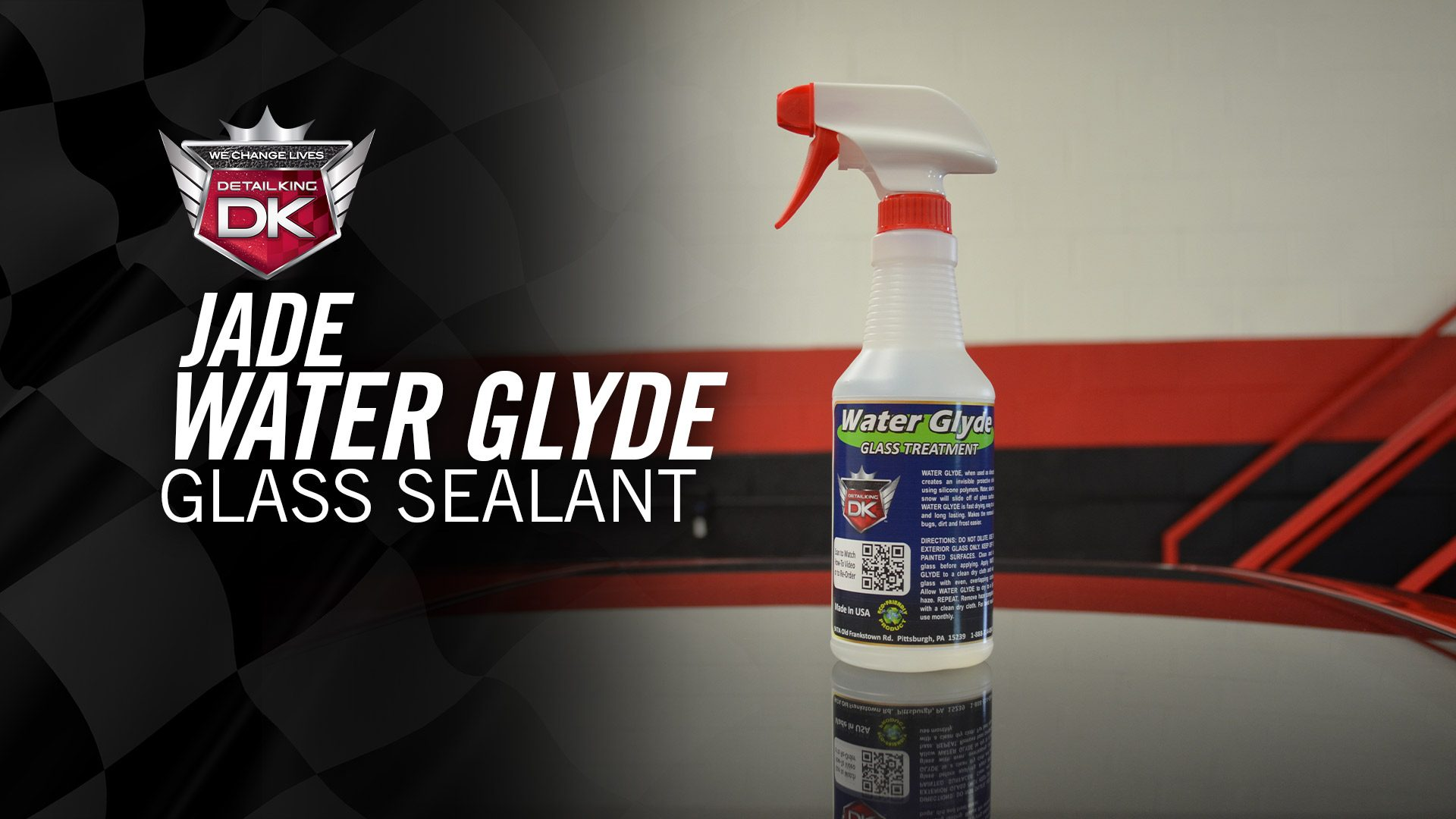 Jade Water Glyde Glass Sealant
