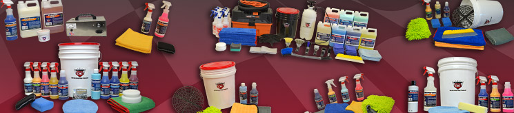 Car Care Detailing Value Kits