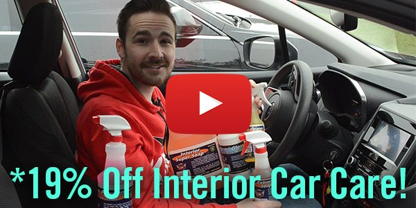Detail King's First Blowout Sale of 2019 – *Save 19% Off Interior Car Care Now THRU Monday 1/7/19