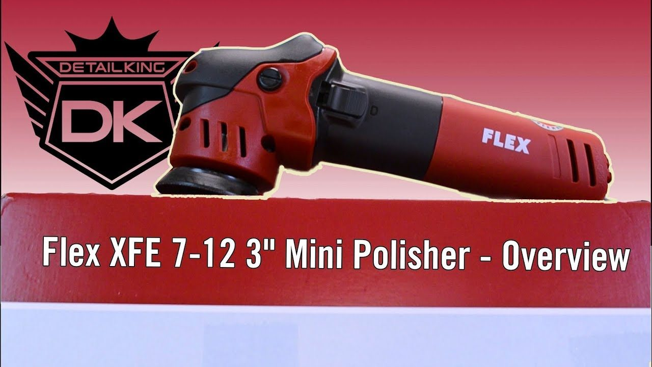 Flex XFE 7-12 3″ Mini Polisher – Overview