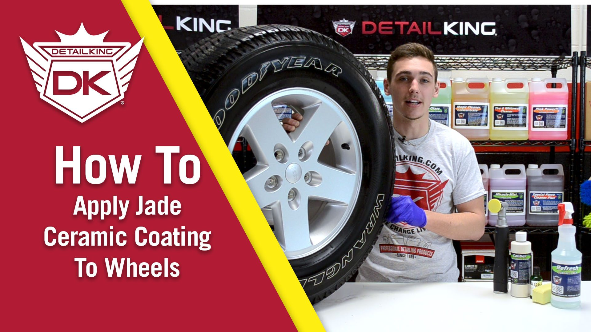 How To: Apply Jade Ceramic Coating To Wheels