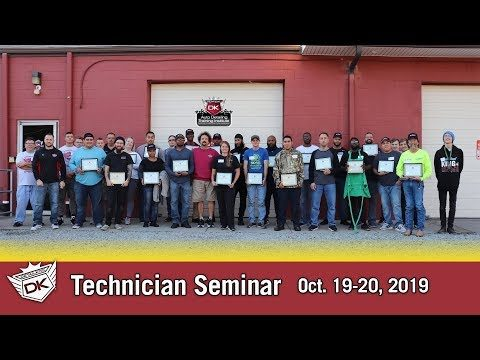 October 2019 Technician Seminar
