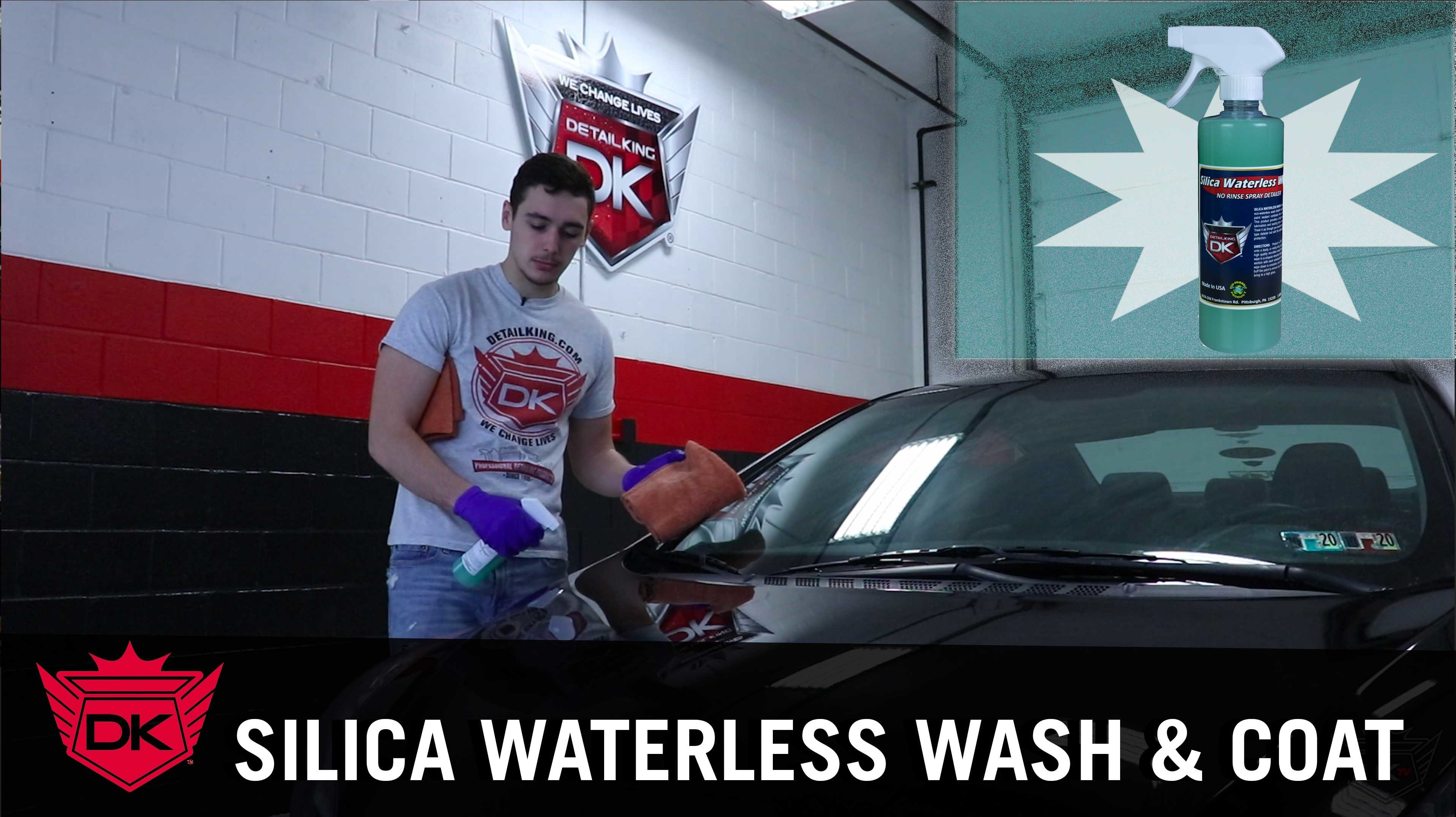 Silica Waterless Wash and Coat Video