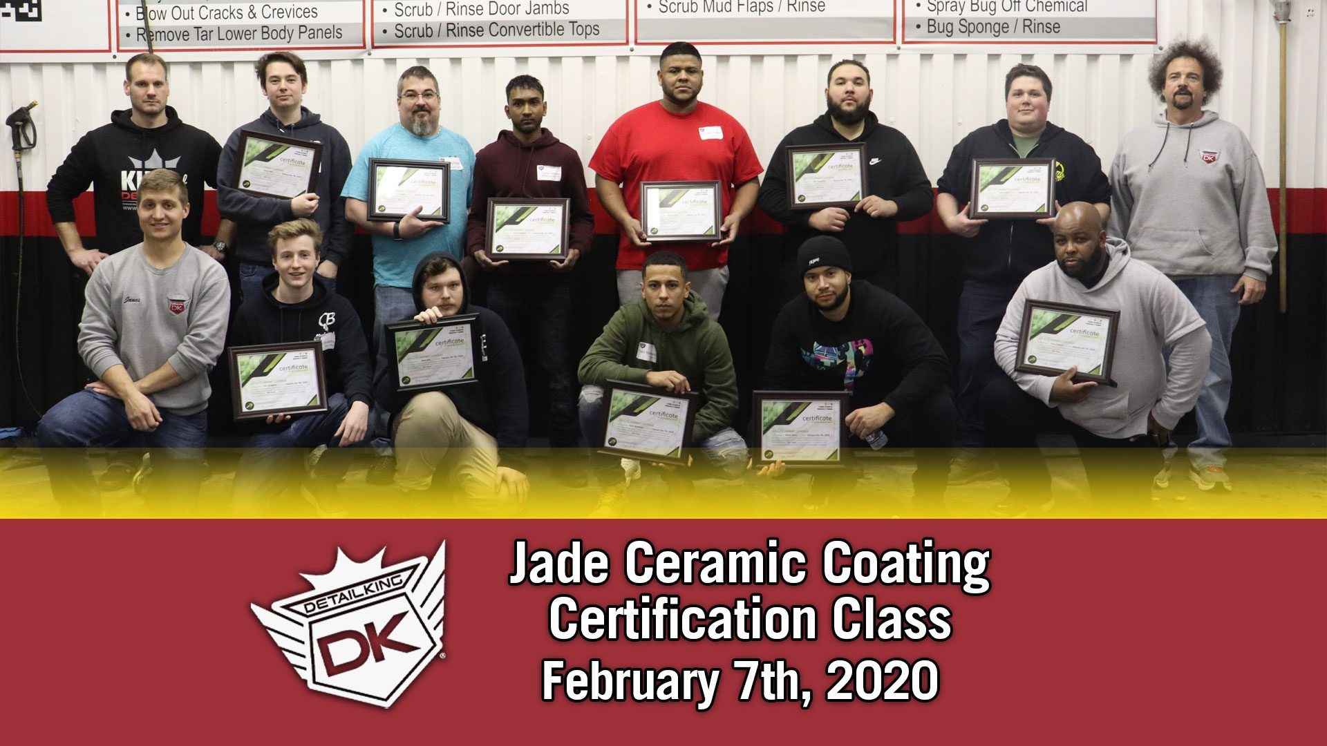 Jade Ceramic Coating Class! February 7th, 2020