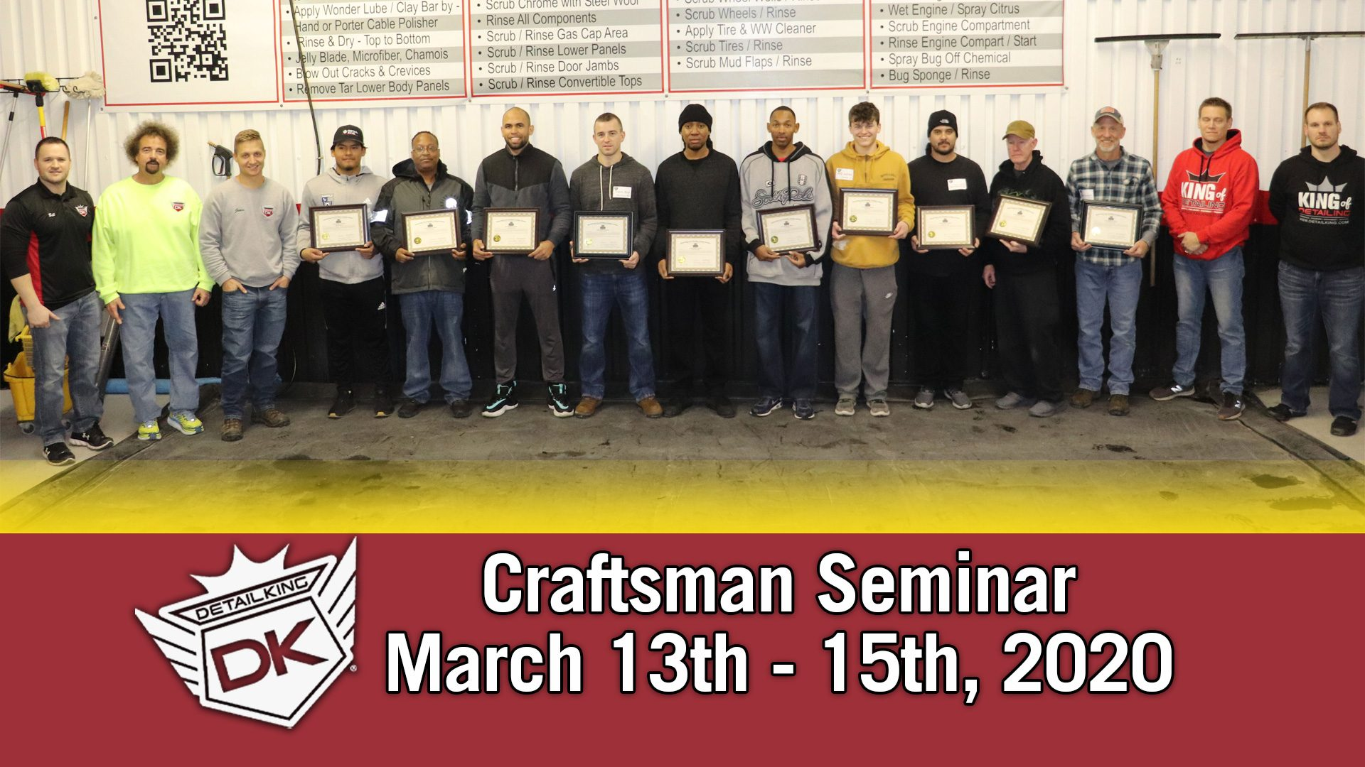 March 2020 Craftsman Seminar