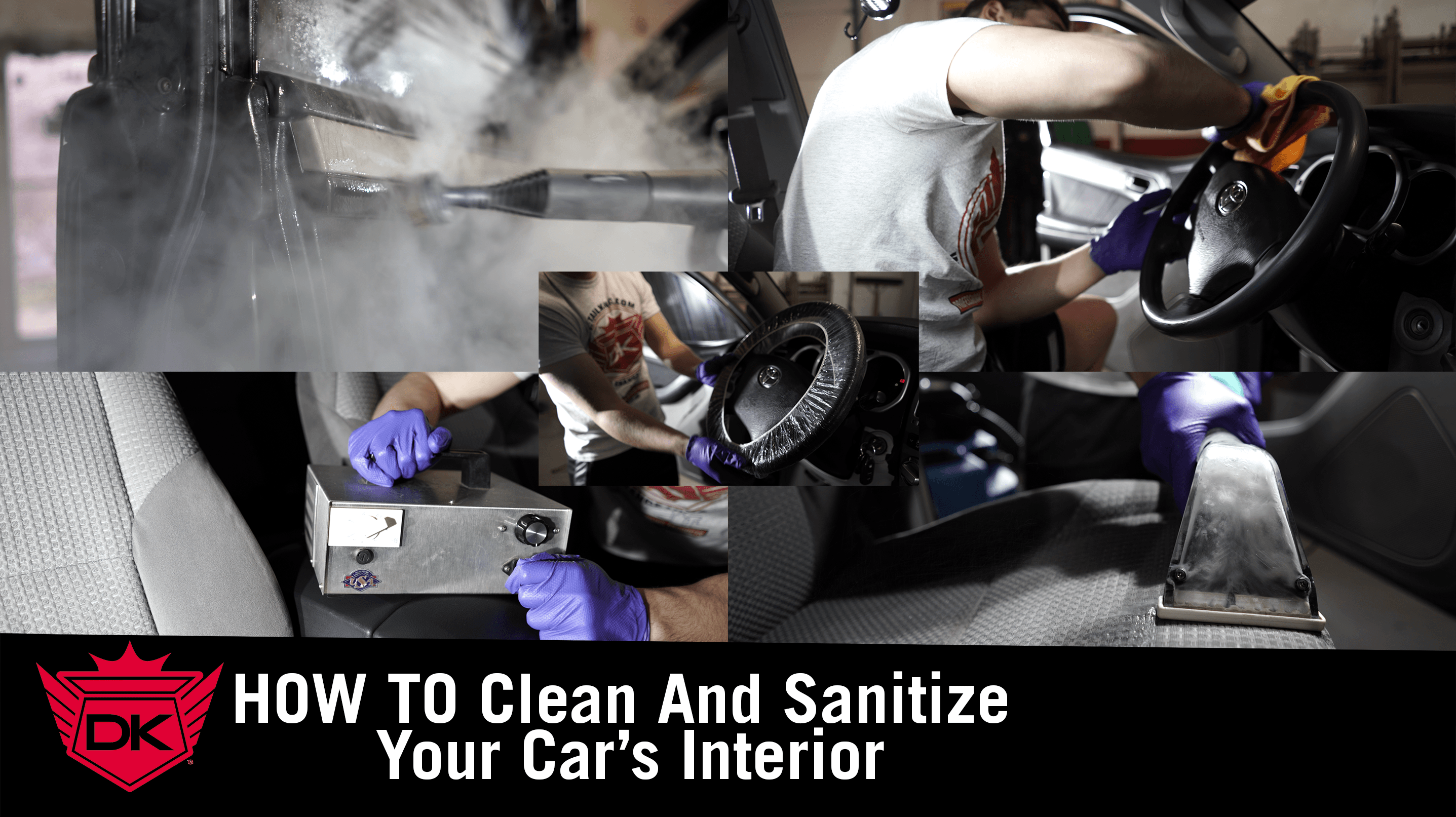 How to Clean and Sanitize Your Car's Interior