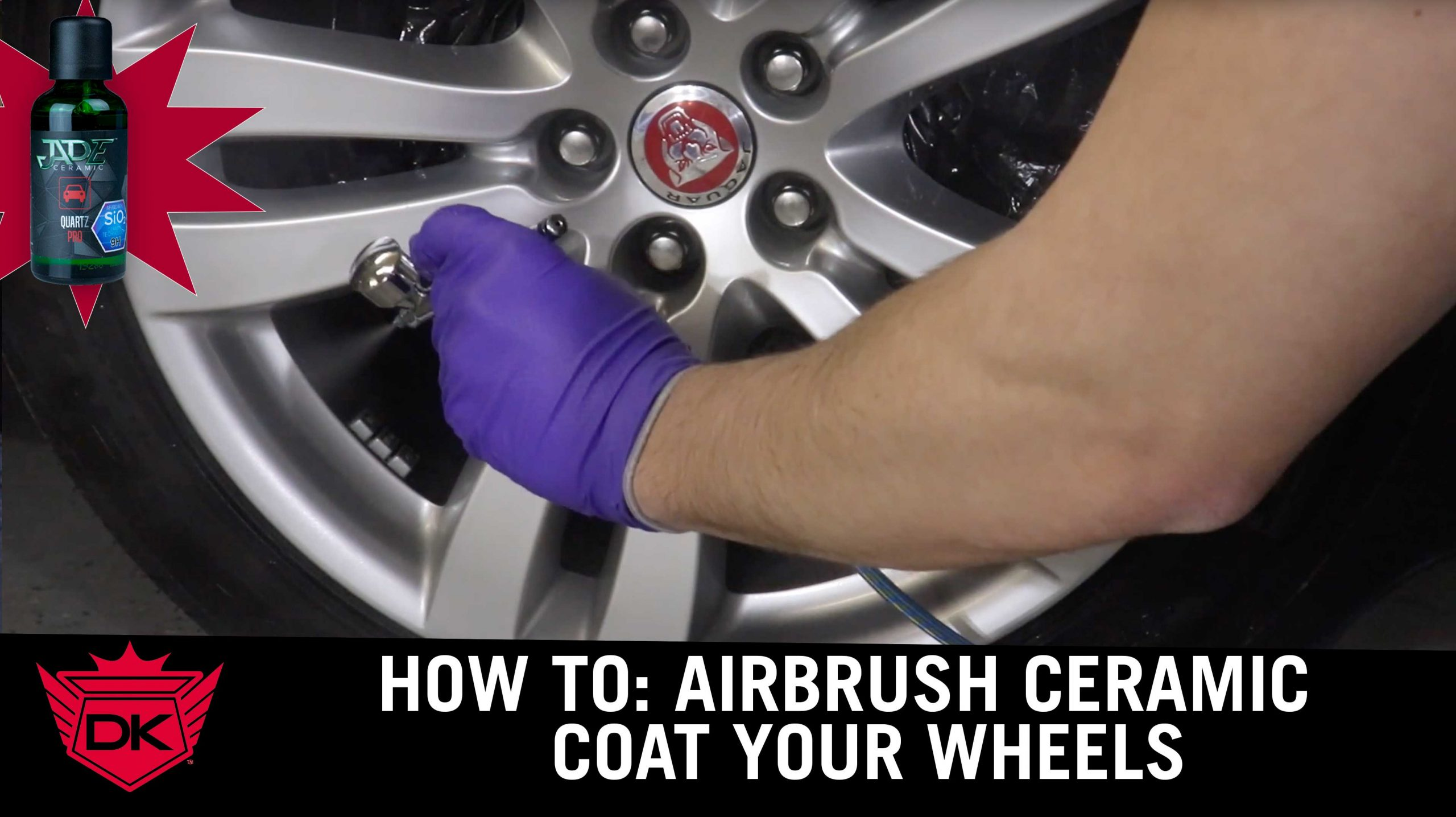 How to Ceramic Coat a Wheel With An Airbrush