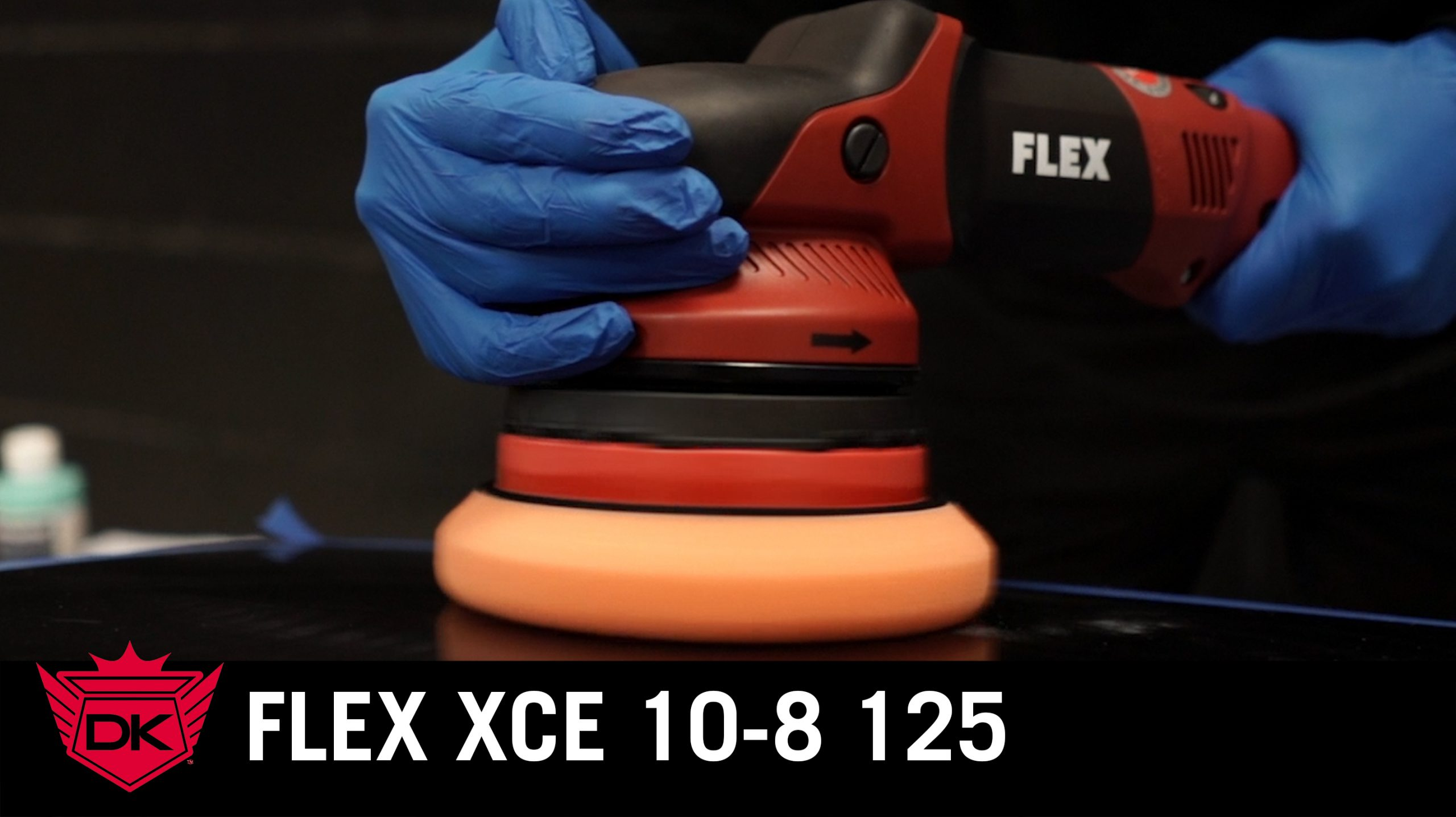 Flex XCE 10-8 125 Corded Polisher