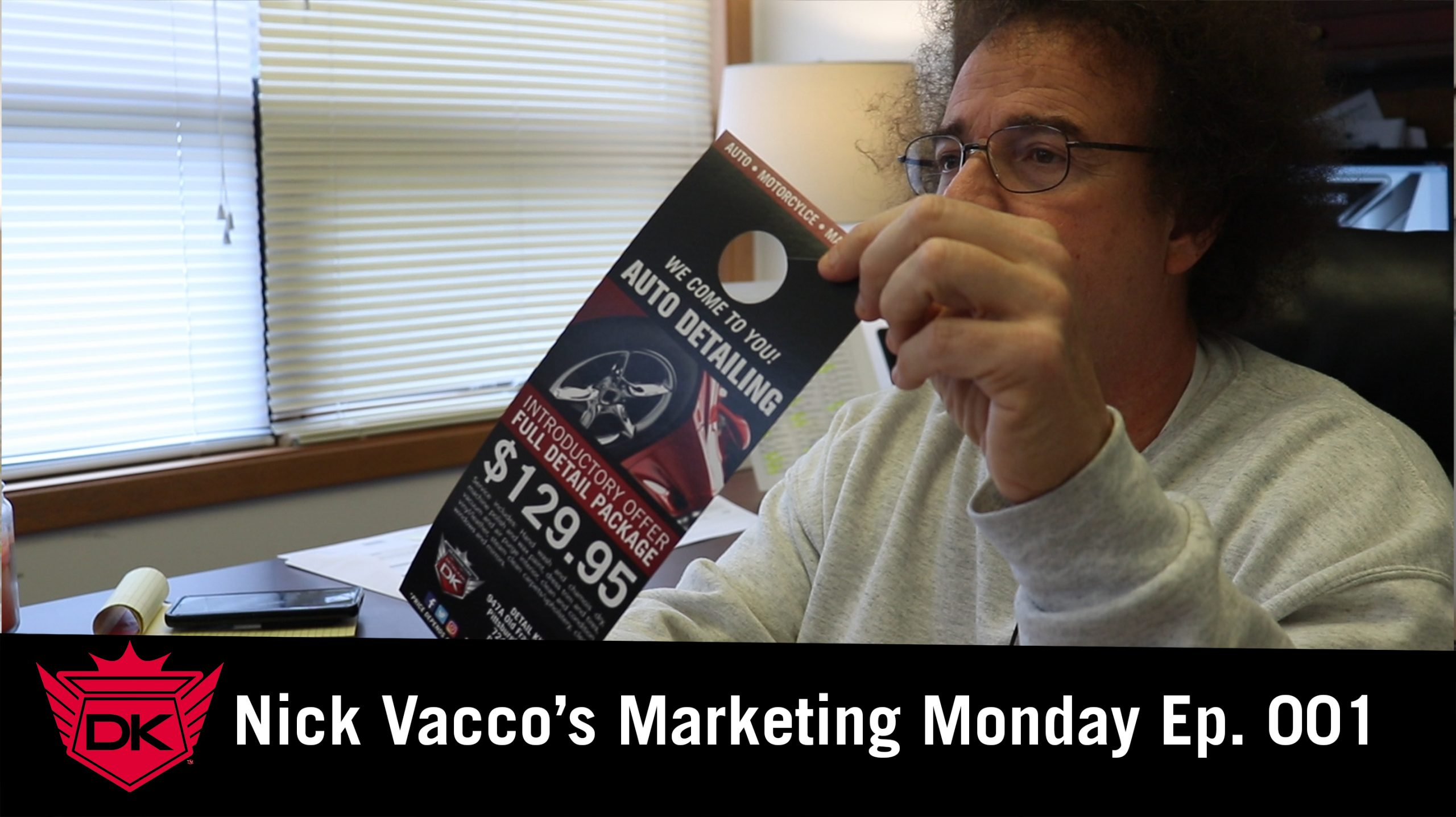 Nick Vacco's Marketing Monday Ep. 001