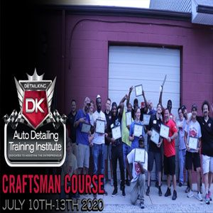 July 10th-13th 2020 Craftsman Seminar