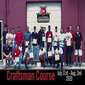 August 2020 Craftsman Seminar