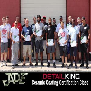 Jade Ceramic Coating Class! August 7th, 2020