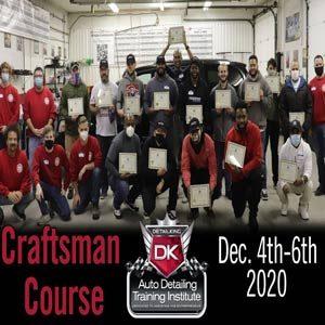 December 2020 Craftsman Seminar