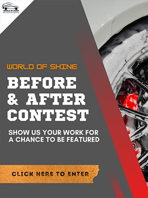 World of Shine - Before and After Contest Sign Up